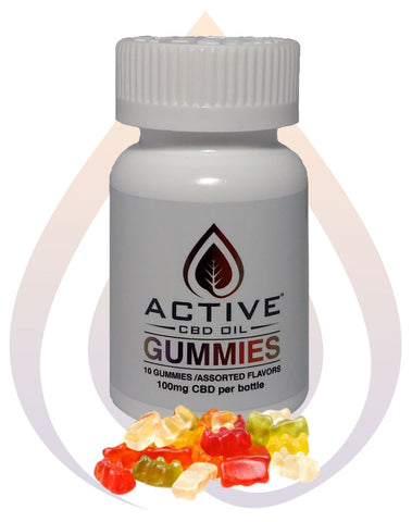 Active CBD: Gummies
