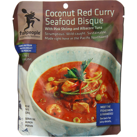 Fishpeople Coconut Red Curry Seafood Bisque