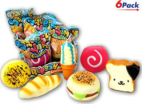 Squishies Yum by JA-RU Pack of 6