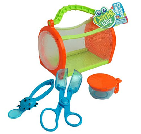 Critter Cage for Kids - Bug Catcher Set by JA-RU