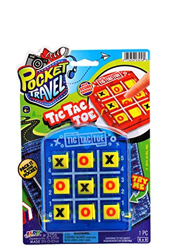 Pocket Travel Tic Tac Toe by JA-RU