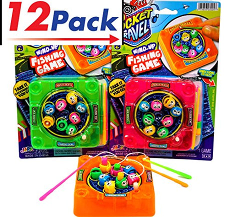 Magnetic Fishing Game by Ja-Ru - Pack of 12