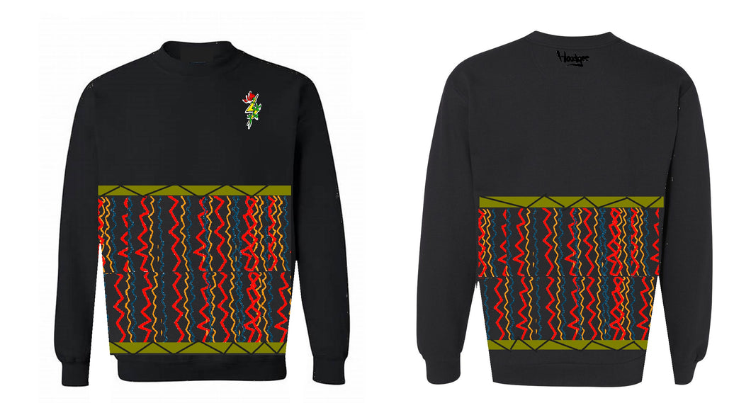 LIMITED Crew Neck Lightning Rose