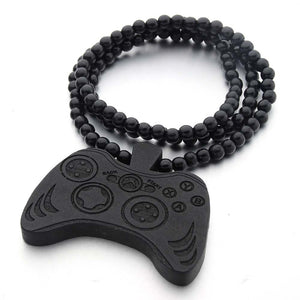 Controller Wooden Necklace