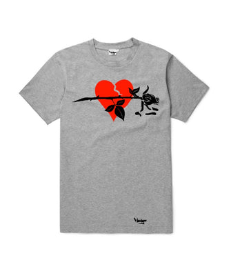 T-Shirt Broken Heart Rose