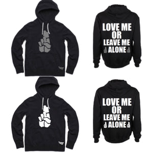 Hoodie Brand Nubian Love Me Or Leave Me Alone