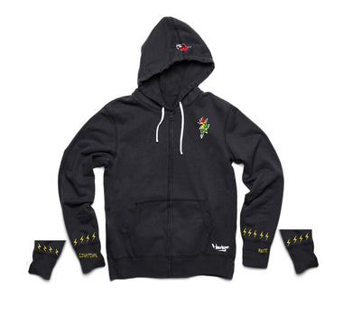 Lightning Rose Limited Hoodgee Zip Up