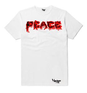 T-Shirt Peace Broken into Pieces