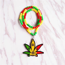 Weed leaf Necklaces