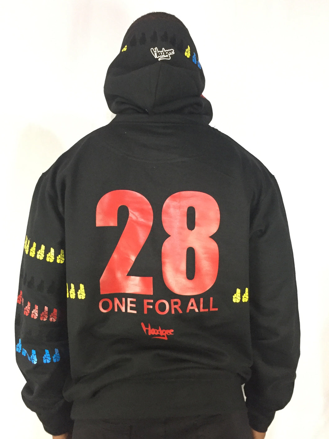 One For All Limited Hoodgee Brand Nubian 28th Anniversary