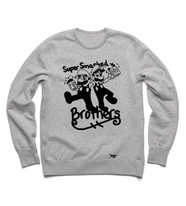 Crew neck Super Smashed Brothers