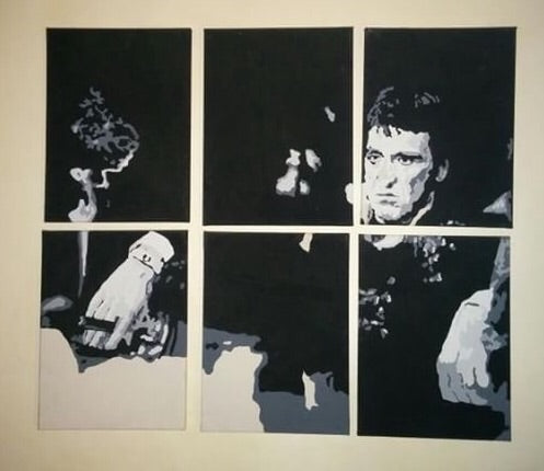 Painting Scarface