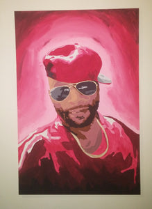 Painting Lord Jamar