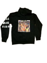 Brand Nubian Zip Up Limited Hoodgee