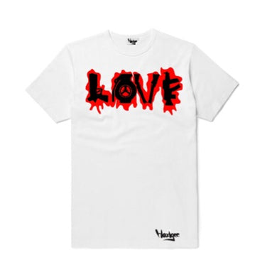 T-Shirt Love Broken into Guns