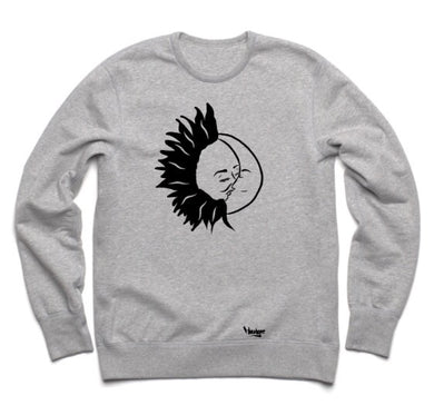 Crew neck Sun and Moon