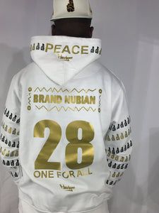 Brand Nubian 28TH One For All Limited Hoodgee