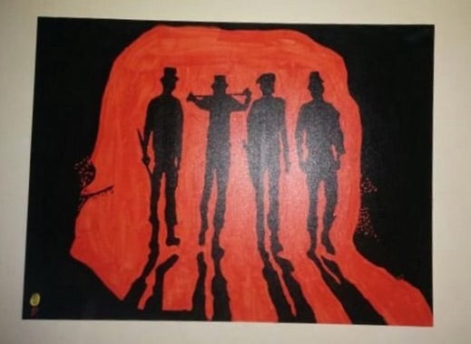 Painting Clockwork orange