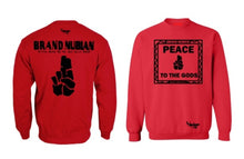 Crew Neck Brand Nubian Peace To The Gods Edition