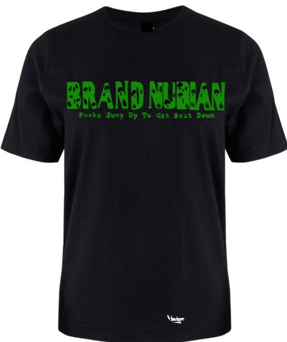 T-shirt Brand Nubian Punks Jump up to get beat Down