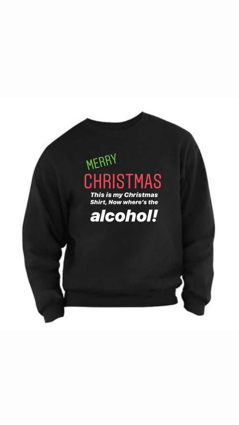 Chilling Christmas CrewNeck