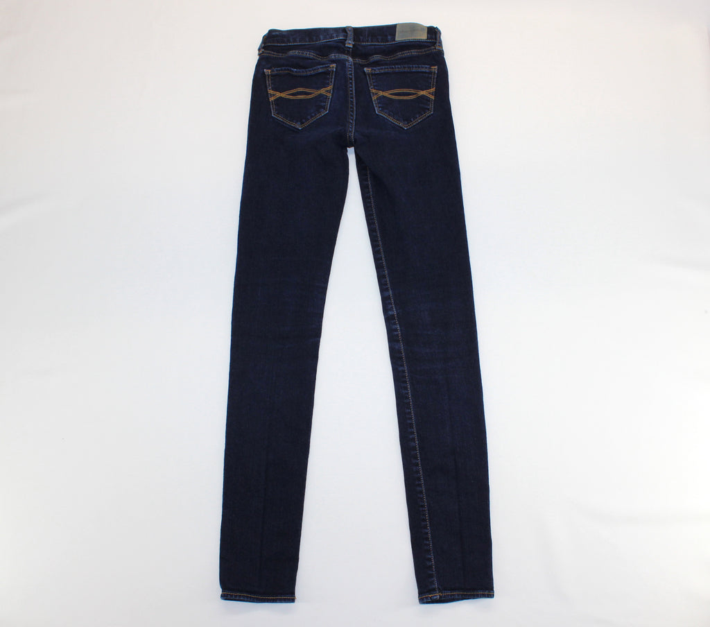 Abercrombie Indigo Slim Legging Jeans Size 12 Slim - Around Again Inc