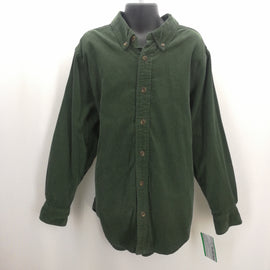 Childrens Place Green Corduroy Shirt Size Medium (7/8),Tops,Childrens Place,Around Again Inc