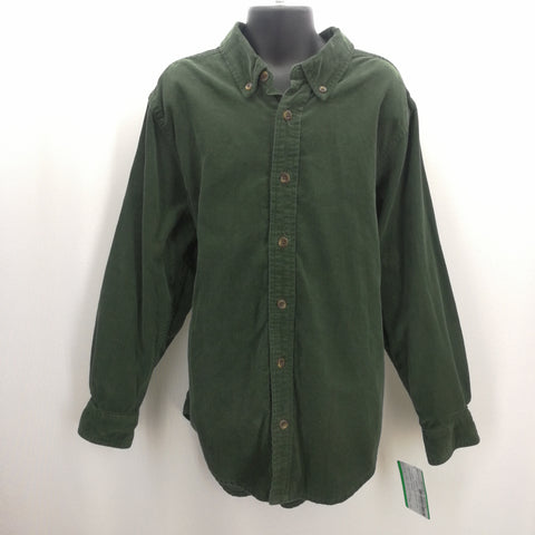 Childrens Place Green Corduroy Top Size Medium (7/8),Tops,Childrens Place,Around Again Inc