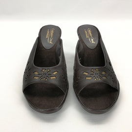 Coldwater Creek by Aerosoles Brown Slide Heels Size 7.5,Shoes,Aerosoles,Around Again Inc