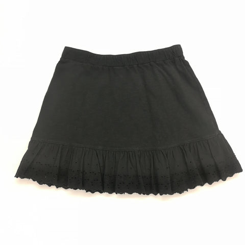 Crazy 8 Black Ruffled Hem Skirt Size XL (14),Skirts,Crazy 8,Around Again Inc