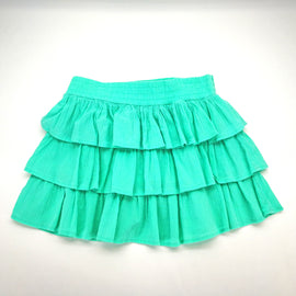 Crazy 8 Mint Green Ruffled Layered Skirt Size L (10-12),Skirts,Crazy 8,Around Again Inc