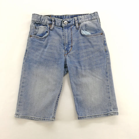 &Denim Faded Blue Denim Shorts Size 8-9 Youth,Shorts,&Denim,Around Again Inc