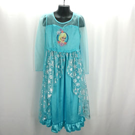 Disney Store Frozen Elsa Nightgown Dress Size 5-6, 7-8 - Around Again Inc