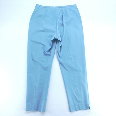 Doncaster Light Blue Stretch Slim Fit Pants Size 10,Pants,Doncaster,Around Again Inc