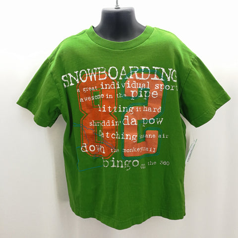Gap Snowboard Theme T-Shirt Size Medium,Tops,Gap,Around Again Inc