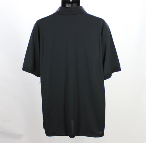 JOCKEY NEW! Black Polo Size Large Back