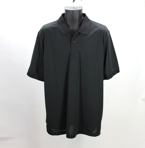 JOCKEY NEW! Black Polo Size Large Front