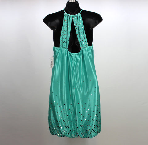 JUMP APPAREL NEW! Green Sparkle Bubble Dress Size 3/4 - Around Again Inc