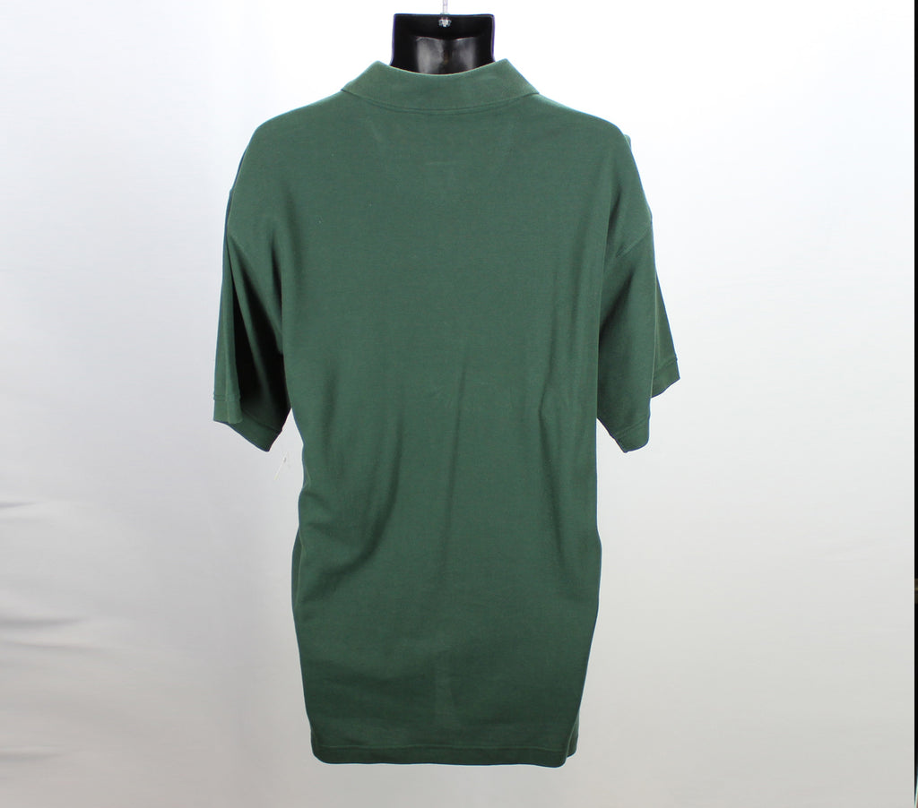 Jonathan Corey NEW! Forest Green Polo Top Size Large - Around Again Inc