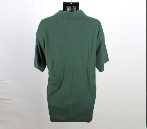 Jonathan Corey Green Polo Size Large Back