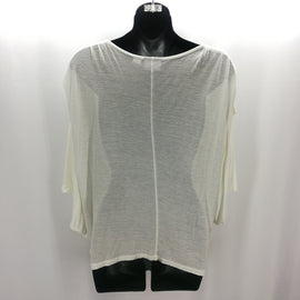 "Kingdom Couture by Disney Parks Ivory ""Belle"" Batwing Top Size Small,Tops,Disney,Around Again Inc"