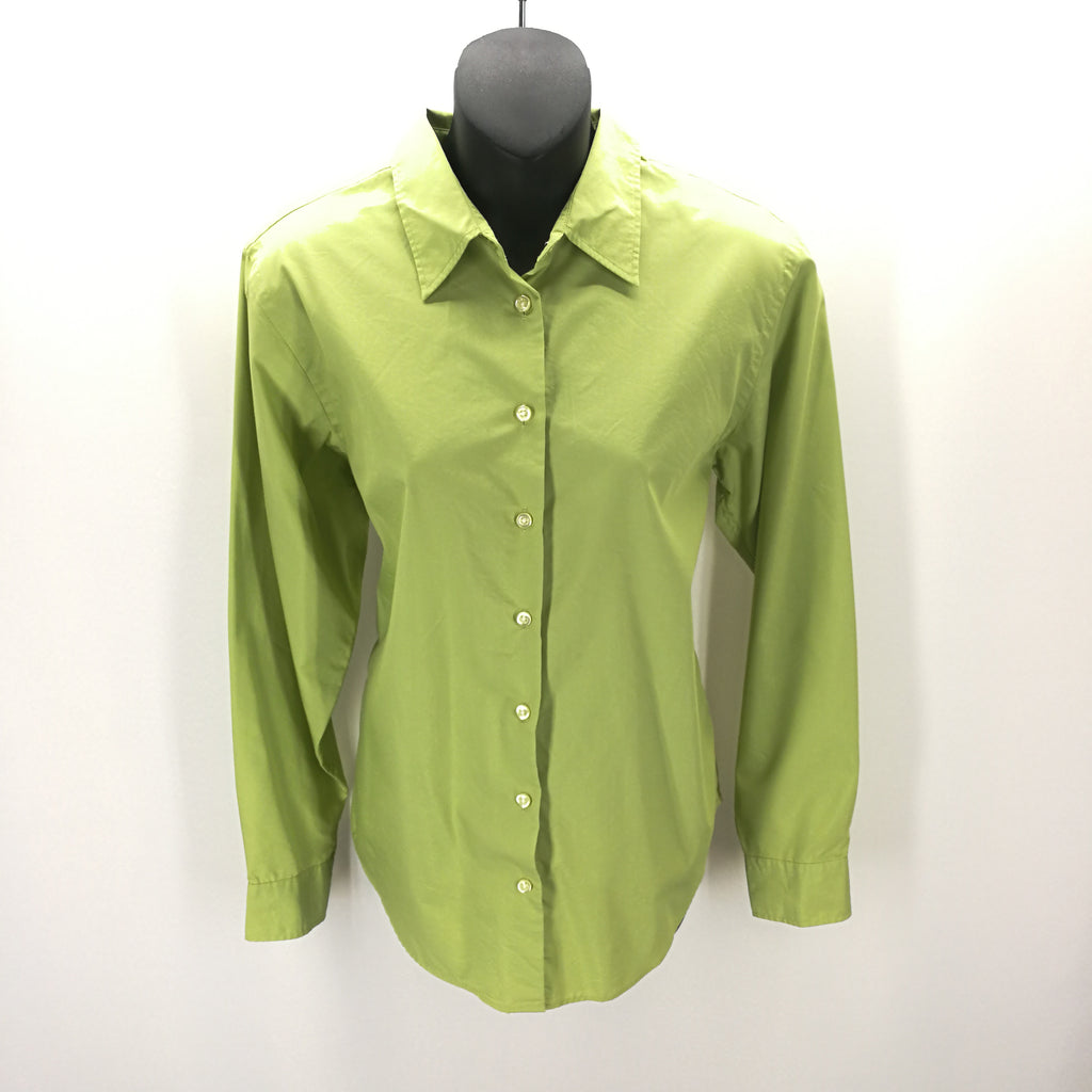 Lands' End Light Green Button Down Top Size 10 Reg,Tops,Lands' End,Around Again Inc
