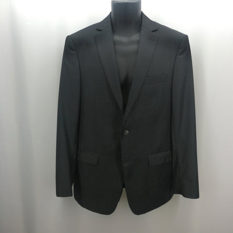 Michael Kors Charcoal Grey 100% Wool 2-Button Jacket Size 40R,Suits,Michael Kors,Around Again Inc