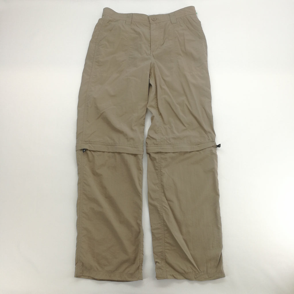 North Face Khaki Nylon Conversion Pants Size Large,Pants,North Face,Around Again Inc