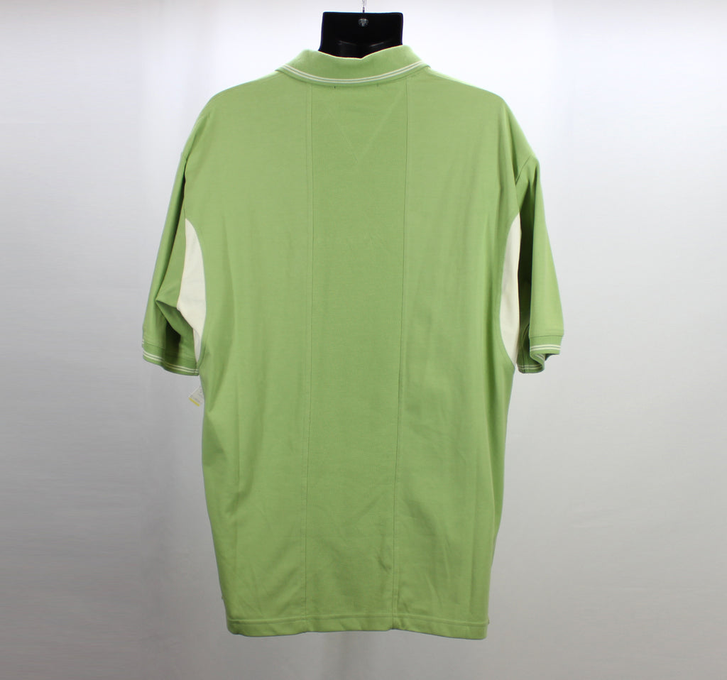 Proline Sportswear NEW! Sage Green Ivory Polo Top Size Large - Around Again Inc