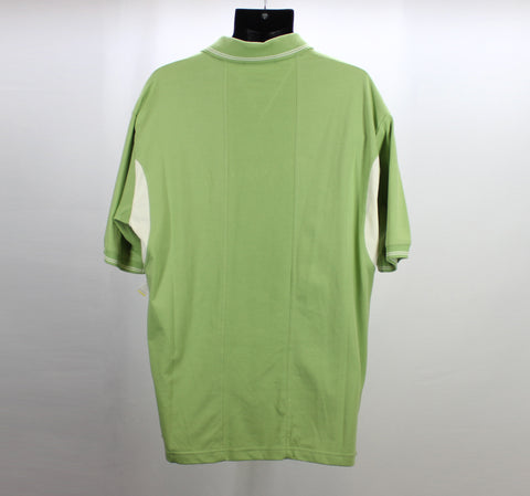 Proline Sportswear Green Golf Polo Size Large Back