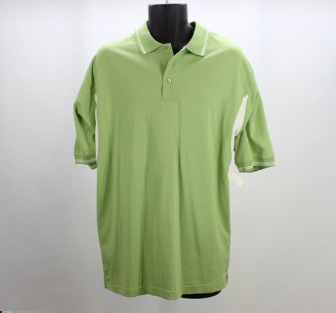 Proline Sportswear Green Golf Polo Size Large Front