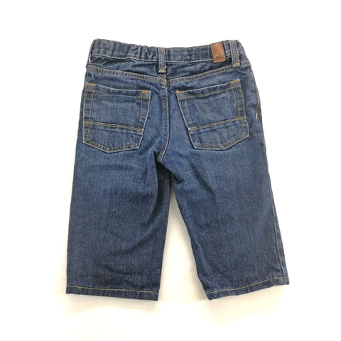 Ruum Blue Distressed Denim Shorts Skinny Size 8,Shorts,Ruum,Around Again Inc