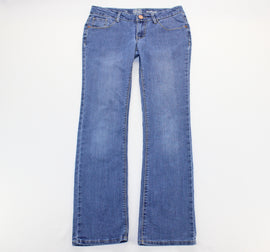 So Blue Faded Bootcut Jeans Size 14,Jeans,So,Around Again Inc