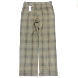 Two Star Dog '52 Weekend' Taupe Khaki Plaid Stretch Pants Size 14,Pants,Two Star Dog,Around Again Inc